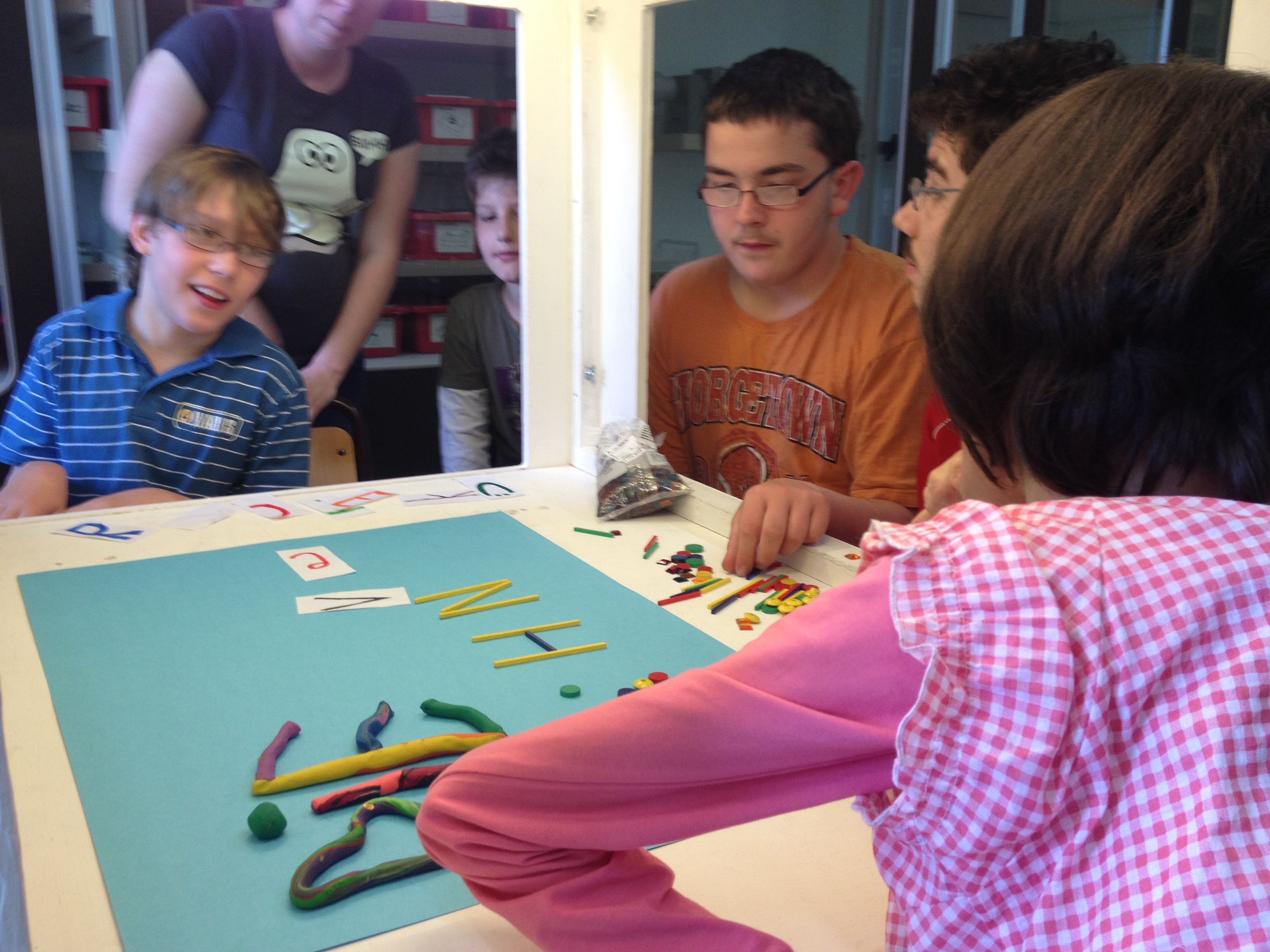 Arbeiten mit der Trickbox - Projektwoche 2012